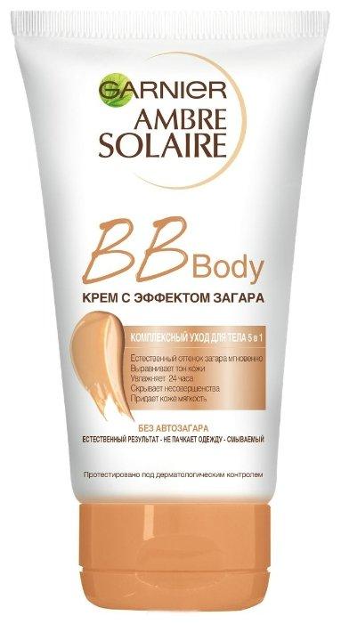 Крем для тела GARNIER Ambre Solaire BB Body с эффектом загара