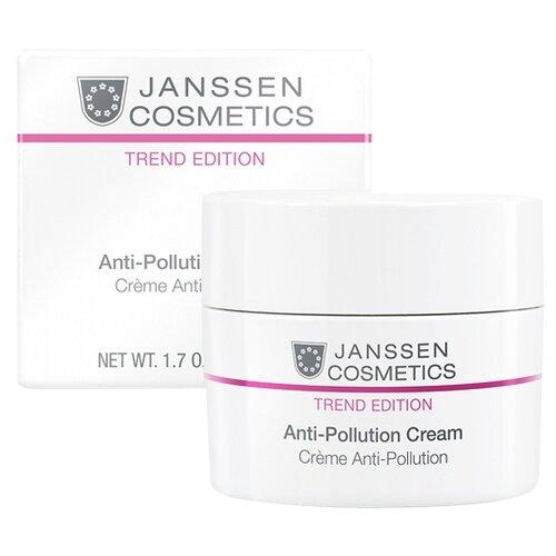 Janssen Cosmetics Trend Edition Anti-Pollution Cream Защитный дневной крем для лица, шеи и области декольте, 50 мл