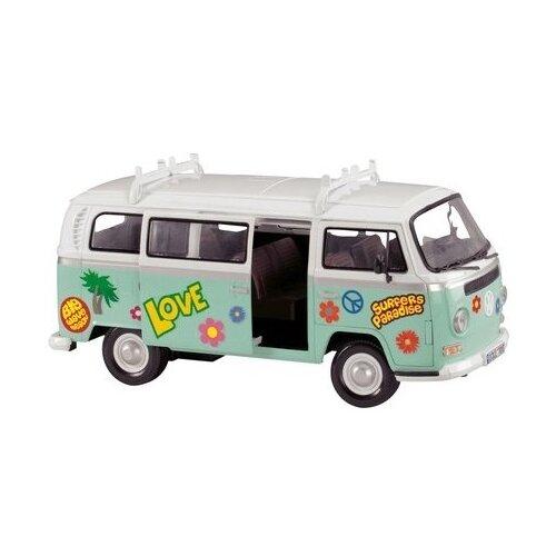 Купить Микроавтобус Dickie Toys 3776000 1:14 32 см белый/зеленый, Машинки и техника