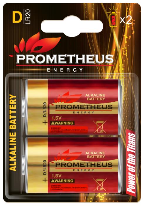 Батарейка Prometheus Energy D/LR20