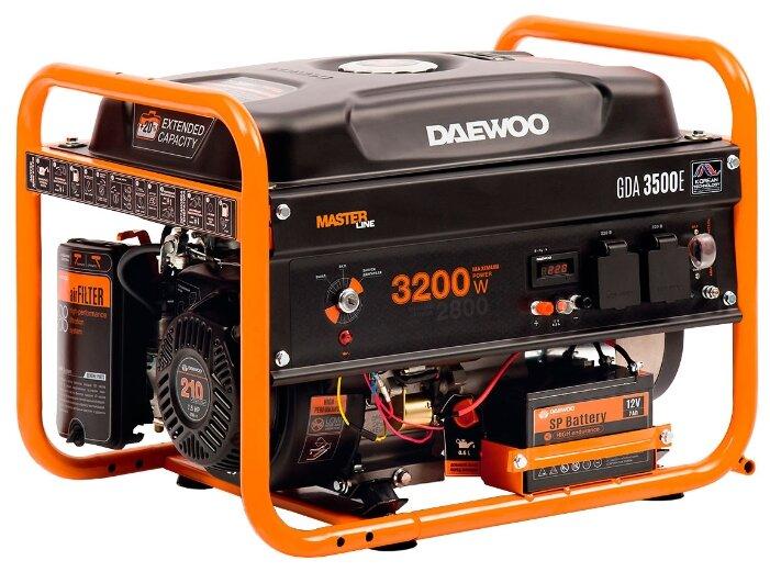 Бензиновый генератор Daewoo Power Products GDA 3500E (2800 Вт)
