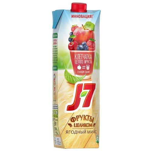Нектар J7 Фрукты целиком Яблоко-Ягоды, 0.97 лСоки, нектары, морсы<br>