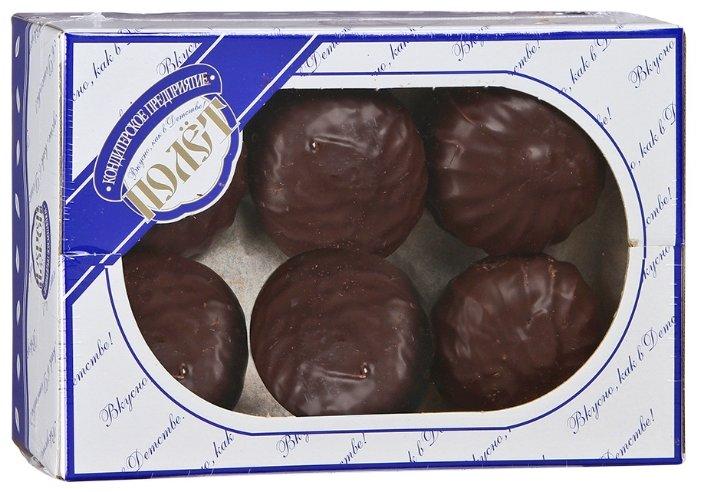 Зефир Полет в темной шоколадной глазури, 500г