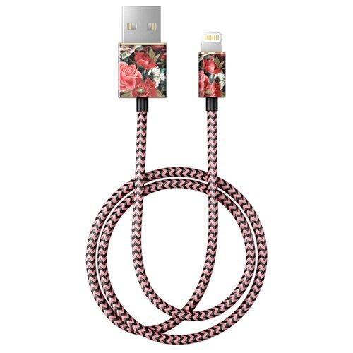 Кабель iDeal of Sweden Fashion USB - Lightning 1 м antique roses