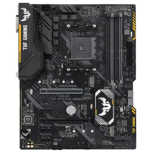 Материнская плата ASUS TUF X470-PLUS GAMING asus asus m5a97 plus page 5