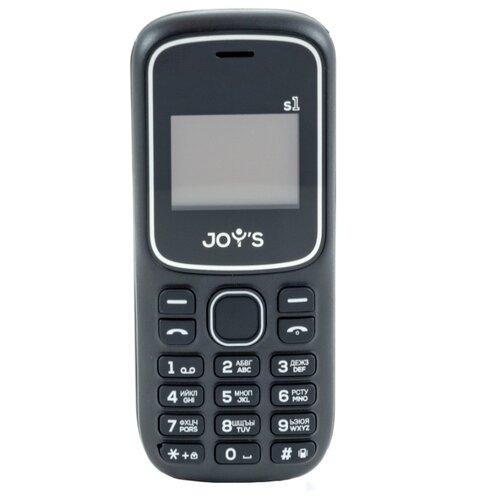 Телефон JOY'S S1 черный телефон