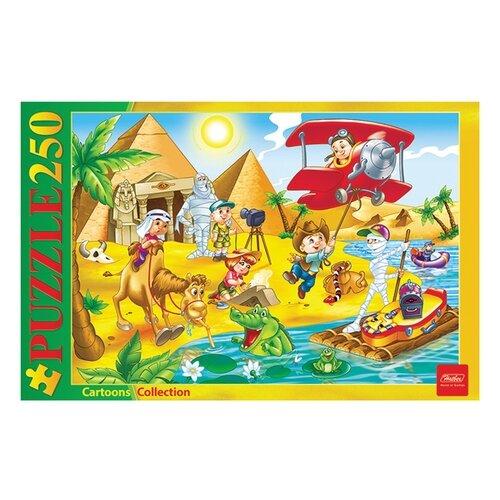 Пазл Hatber Cartoons Collection Приключения в Египте (250ПЗ3_10721), 250 дет. пазл hatber букет цветов 250пз3 09919 250 дет