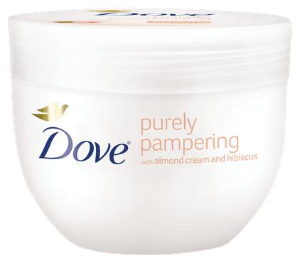 Крем Dove Purely Pampering для лица и тела миндальное молочко и гибискус