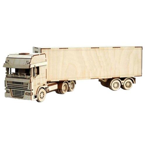 Сборная модель Lemmo Грузовик с прицепом (ГР-9)