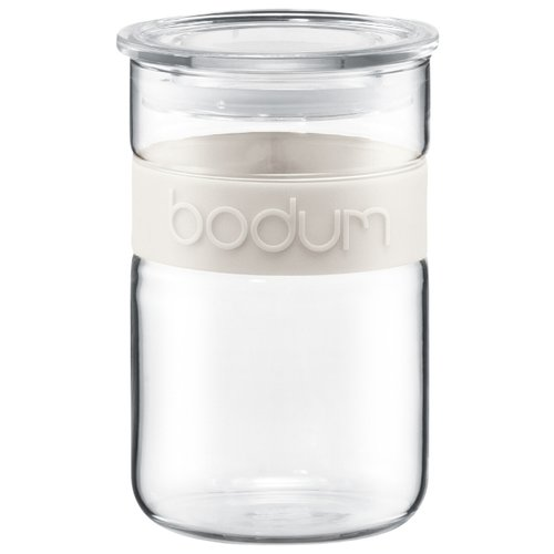 Bodum Банка для хранения Presso 600 мл белый