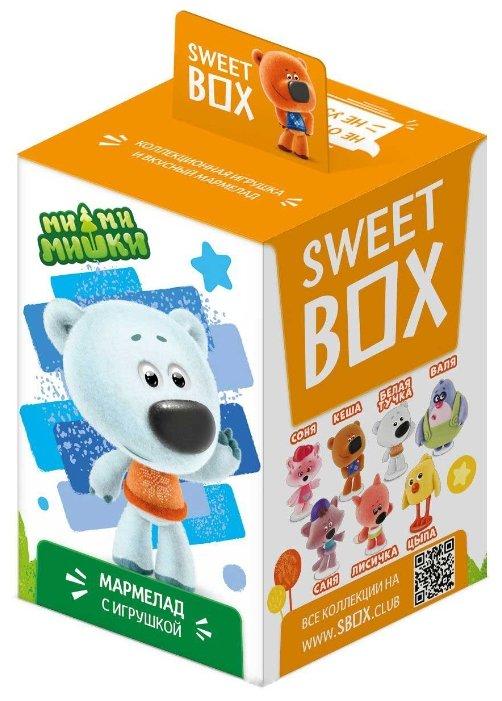 Мармелад жевательный Ми-Ми-Мишки Sweet box с игрушкой, 10 г