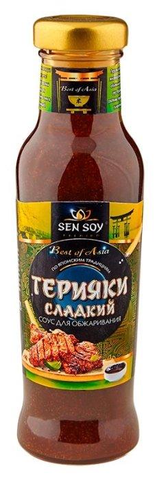 Соус Sen Soy Терияки сладкий для обжаривания, 320 г
