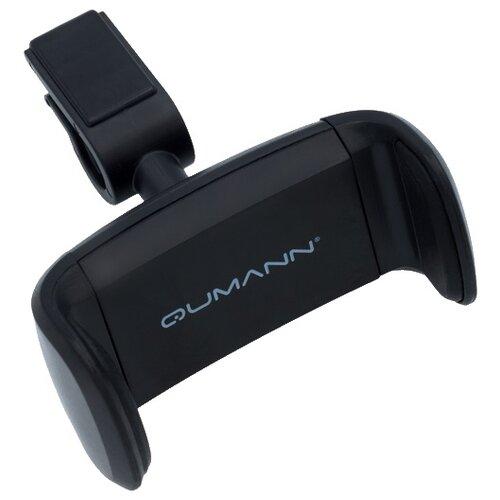 Держатель Qumann QHP-04 черныйДержатели для мобильных устройств<br>