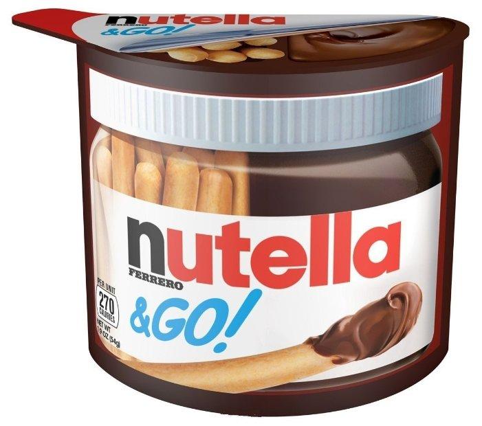 Nutella Набор из хлебных палочек и пасты ореховой с добавлением какао