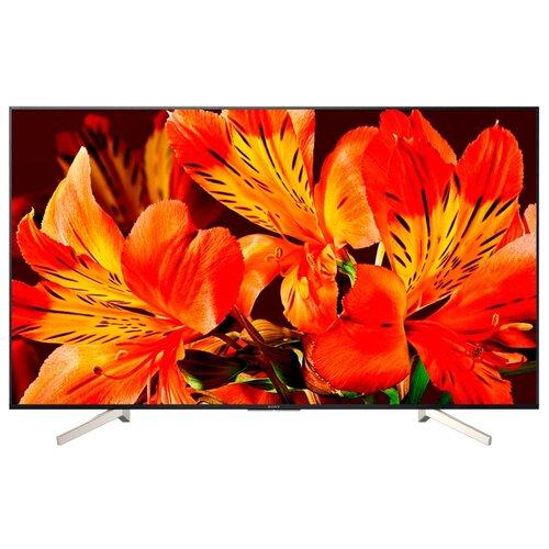 Фото - Телевизор Sony KD-55XF8596 54.6 (2018) черный/серебристый телевизор sony 49 kdl49wf804br bravia черный