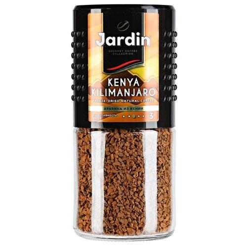 Кофе растворимый Jardin Kenya Kilimanjaro, стеклянная банка, 95 г