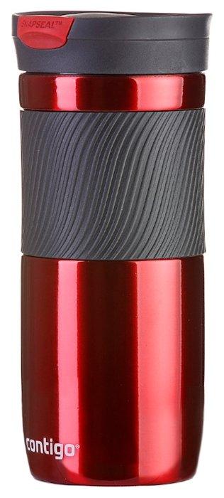 Купить Термокружка Contigo Byron (0,47 л) красный по низкой цене с доставкой из Яндекс.Маркета (бывший Беру)
