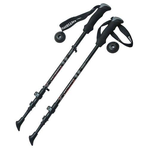 Палки для скандинавской ходьбы 2 шт. Hawk Телескопические F18447 черный