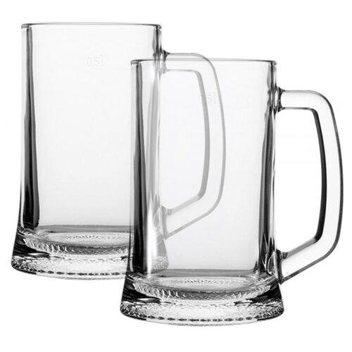 Luminarc Набор кружек для пива Drezden 2 шт 330 мл H5112 набор кружек д пива luminarc гамбург 2шт 330мл стекло