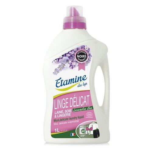 жидкость salton sport для изделий с наполнителем из пуха 0 25 л бутылка Жидкость для стирки ETAMINE DU LYS для изделий из тонких и деликатных тканей с лавандином, 1 л, бутылка