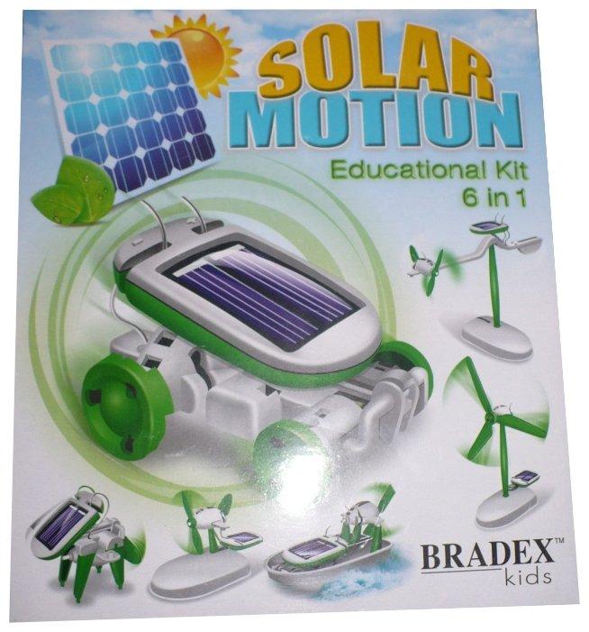 Электромеханический конструктор BRADEX DE0066 На солнечных батареях 6 в 1 — купить по выгодной цене на Яндекс.Маркете