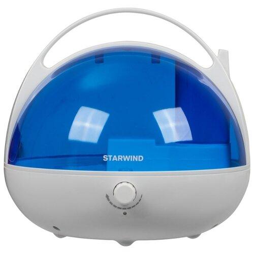 Фото - Увлажнитель воздуха STARWIND SHC2416, белый/синий увлажнитель воздуха starwind shc1232 25вт ультразвуковой белый голубой