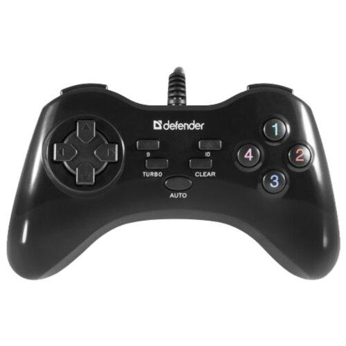 Геймпад Defender Game Master G2 черный геймпад defender zoom серый