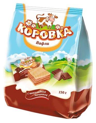 Мини вафли Коровка с Шоколадной начинкой 150 г