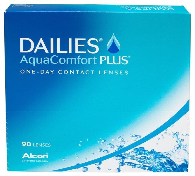 Dailies (Alcon) AquaComfort Plus (90 линз)