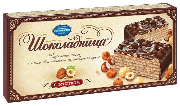 Торт Шоколадница с фундуком