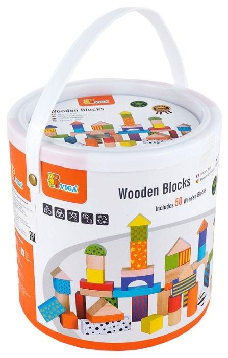 Кубики Viga Разноцветный 59695