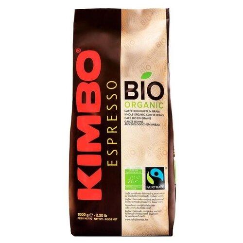 Кофе в зернах Kimbo Integrity Bio, арабика/робуста, 1000 г цена 2017