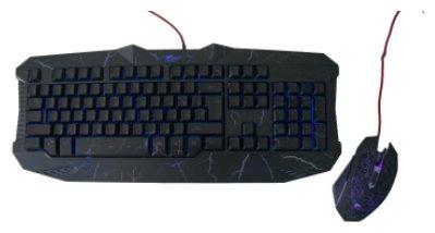 IVT Клавиатура и мышь IVT GW-GKC5000 Black USB