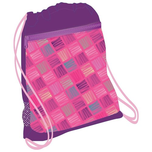 Купить Belmil Мешок-рюкзак для обуви Pink & Purple Harmony (336-91/683) фиолетовый/розовый, Мешки для обуви и формы