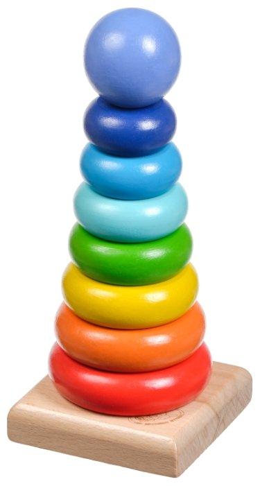 Пирамидка Мир деревянных игрушек Круг