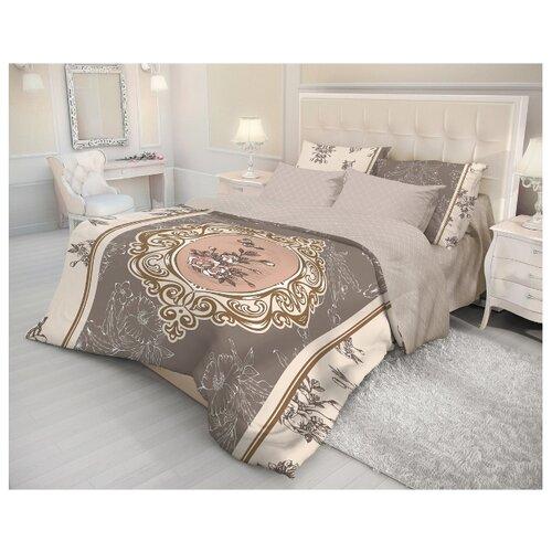 Постельное белье 2-спальное Волшебная ночь Barocco 704271 ранфорс бежевый/коричневыйКомплекты<br>