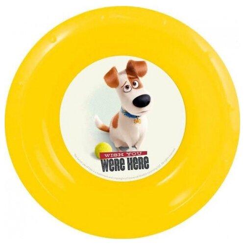 Stor Тарелка Тайная жизнь домашних животных 20.8 см желтый