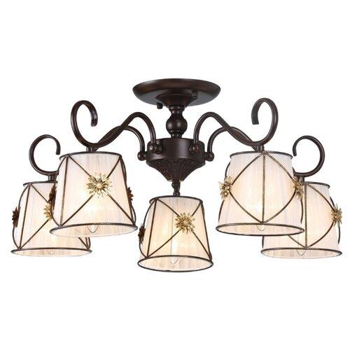 цена на Люстра Arte Lamp Fortuna A5495PL-5BR, E27, 300 Вт