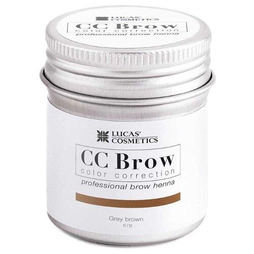 Купить CC Brow Хна для бровей в баночке 5 г grey brown
