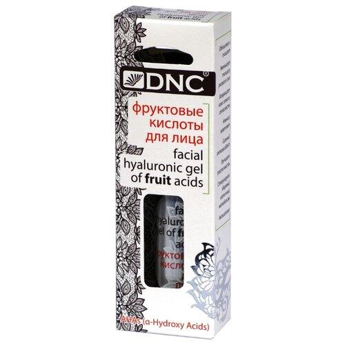 DNC фруктовые кислоты для лица facial hyaluronic gel of fruit acids 26 мл кислоты для лица летом