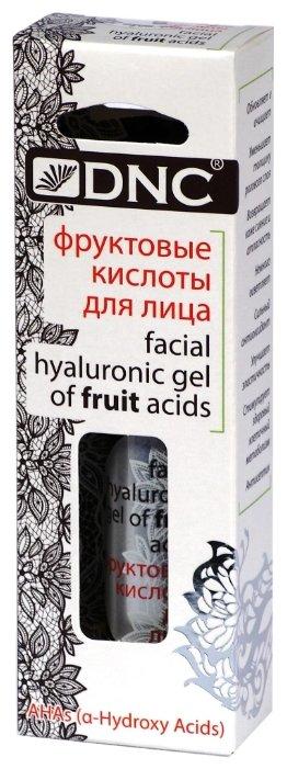 DNC фруктовые кислоты для лица facial hyaluronic gel of fruit acids