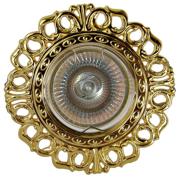 Встраиваемый светильник De Fran FT 1119 G, золото