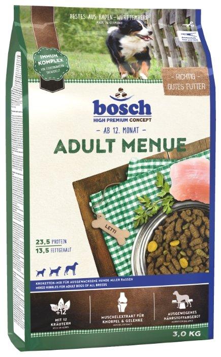Корм для собак Bosch Adult Menue 1 кг