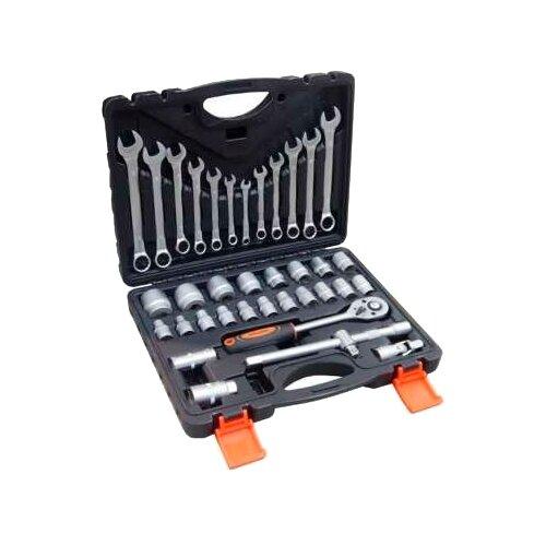 Фото - Набор автомобильных инструментов Partner (37 предм.) PA-4037 черный/оранжевый набор инструментов sparta 6 предм 13540 черный оранжевый
