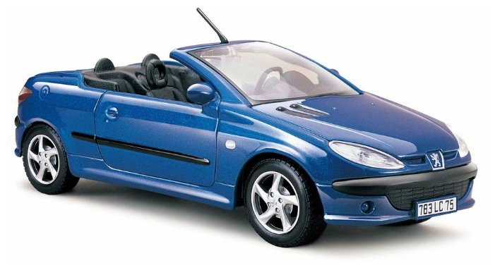 Легковой автомобиль Maisto Пежо 206cc (31972) 1:24