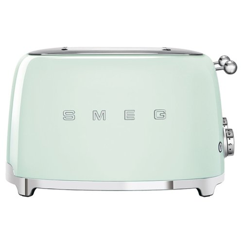 Тостер smeg TSF03PGEU, пастельный зеленый