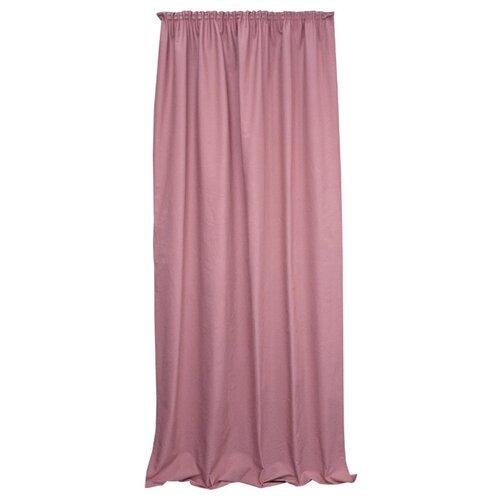 Комплект Kauffort Hosta на тесьме 280 см розово-сиреневый портьеры kauffort paisley на