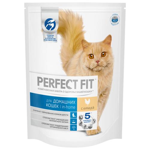 Корм для кошек Perfect Fit (0.65 кг) In-home Сухой корм с курицейКорма для кошек<br>