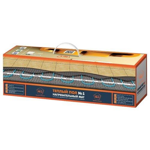 Нагревательный мат Теплый пол №1 ТСП-150-1.0 150Вт/м2 1м2 150Вт теплый пол