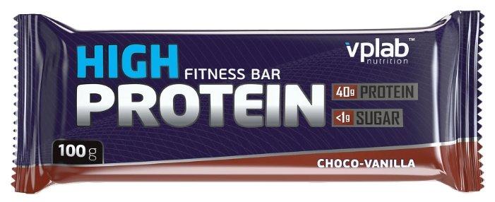 VP Laboratory протеиновый батончик High Protein Fitness (100 г)(1 шт.)